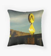 Urban Mobility Throw Pillow
