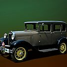 1930 Model A Ford Sedan by TeeMack