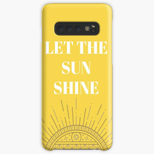 Let the sun shine  Samsung Galaxy Snap Case
