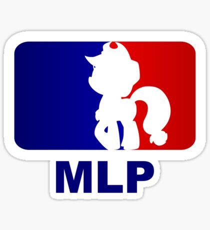 Major League Pony (MLP) - Applejack Sticker