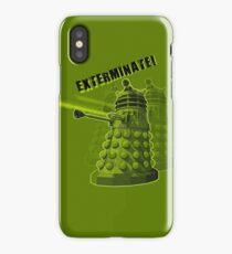 EXTERMINATE ARMY iPhone Case/Skin