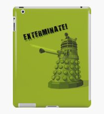 EXTERMINATE ARMY iPad Case/Skin