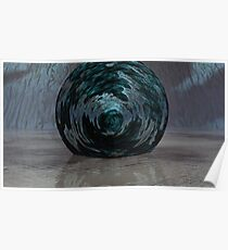 Atmos, Earth & Water Swirl Poster