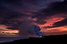 Sunset at Kalapana by Alex Preiss