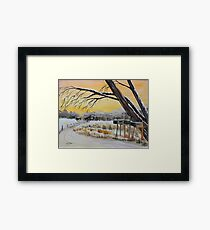 Country Connections Framed Print