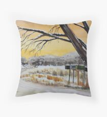 Country Connections Throw Pillow