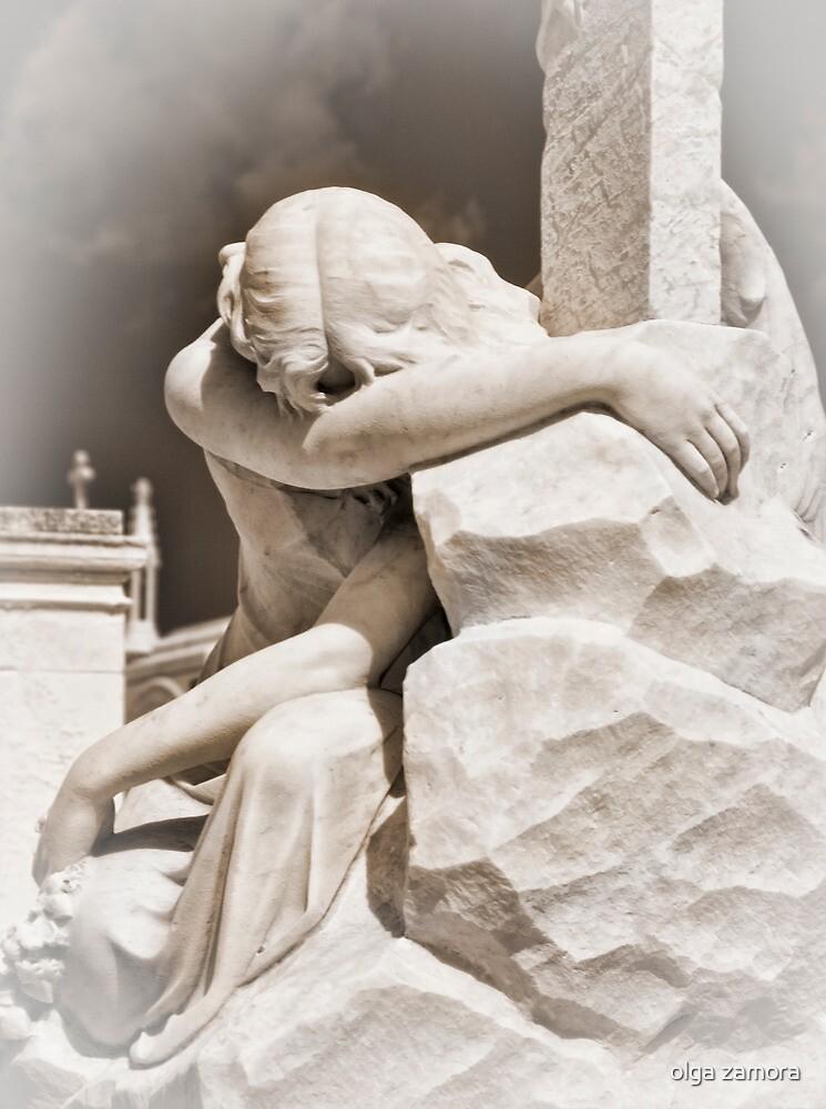 Grieving by olga zamora