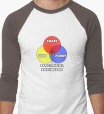 Venn Diagram - Electrical Engineers Baseball ¾ Sleeve T-Shirt