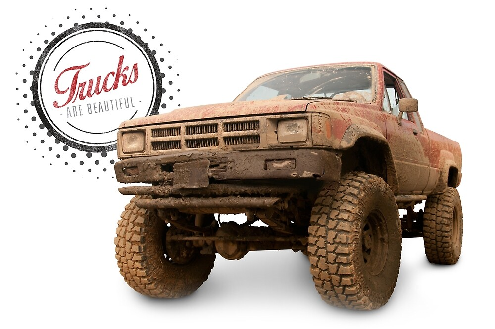 Muddy Toyota 4x4 Pickup Truck by 6thGear