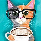 Kitten's Latte of Love by Ryan Conners