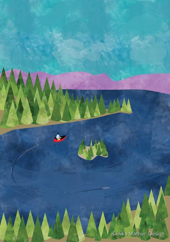 Around the lake by Kanika Mathur  Design