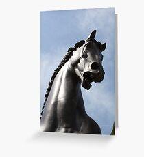 Steel Stallion Greeting Card