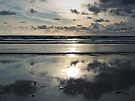 Evening on the beach by WatscapePhoto