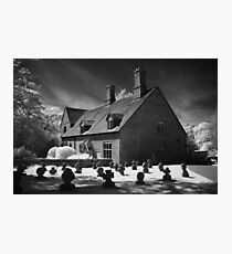 Temple Balsall Infra Red Photographic Print