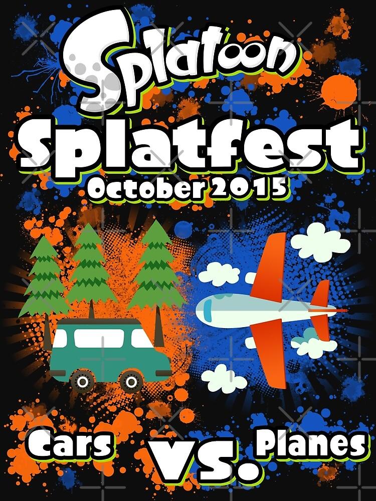 Splatfest October 2015 by KumoriDragon