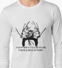 Asura Zoro Version Black Long Sleeve T-Shirt