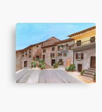 Piazza Garibaldi Canvas Print