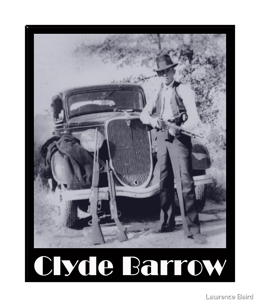 Clyde Barrow by Lawrence Baird