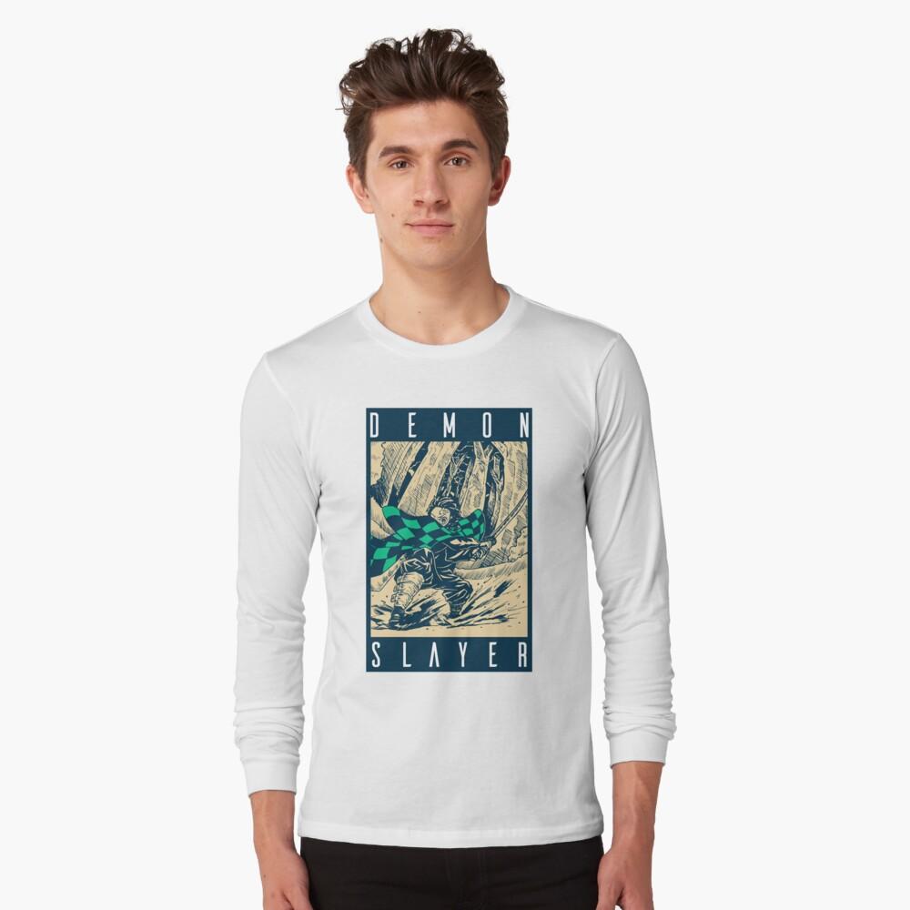 Demon Slayer Vintage Long Sleeve T-Shirt