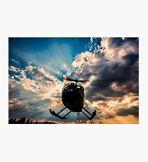 Helicopter Photographic Print