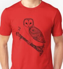 Intricate barn owl T-Shirt