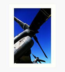 Osprey Rotors Art Print