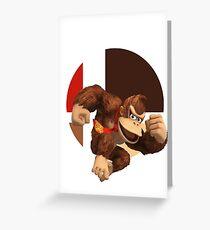 I Main Donkey Kong Greeting Card