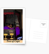 TWO OF CUPS Postcards