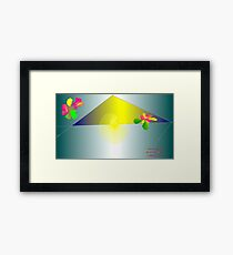 Mottings Framed Print