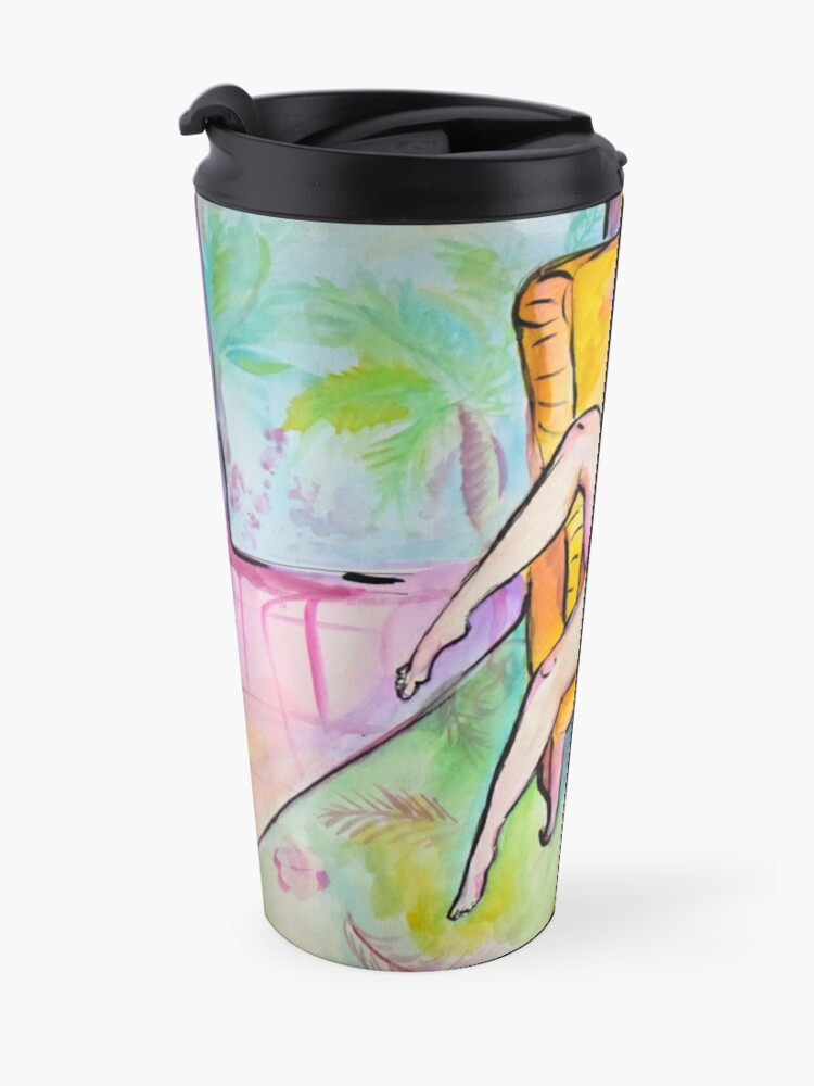 Alternate view of Thighs and Eyes and Sighs Travel Mug