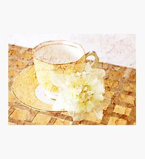 My Favourite Teacup Photographic Print