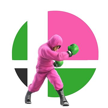 I Main Little Mac (Pink Sweatshirt) by BrightRai