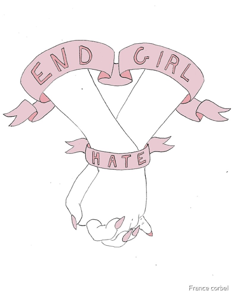 End girl hate by France corbel