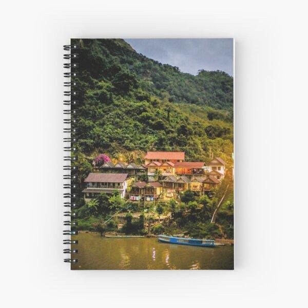 Southeast Asia River Evening Spiral Notebook
