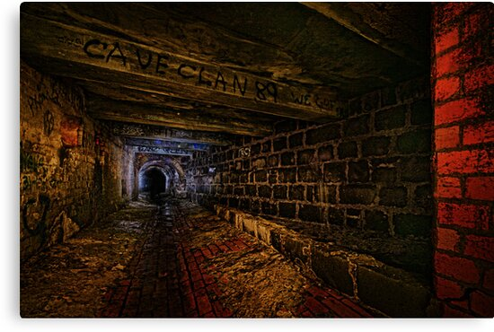 Sly Cured Pig Goes Underground by Reg  Lyons