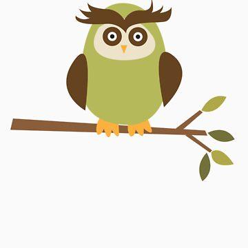 Cute Owl by melissagavin
