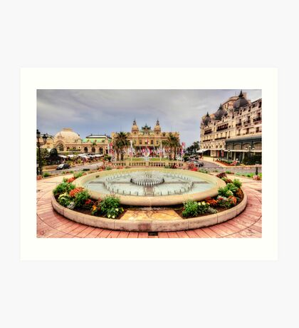 Casino of Monte Carlo Art Print