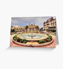 Casino of Monte Carlo Greeting Card