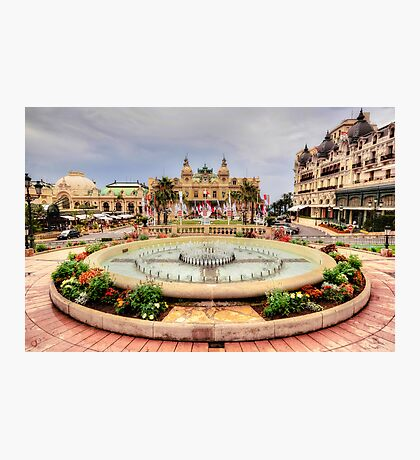 Casino of Monte Carlo Photographic Print