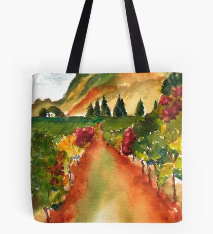 September Vineyard Tote Bag