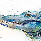 Alligator  by Slaveika Aladjova
