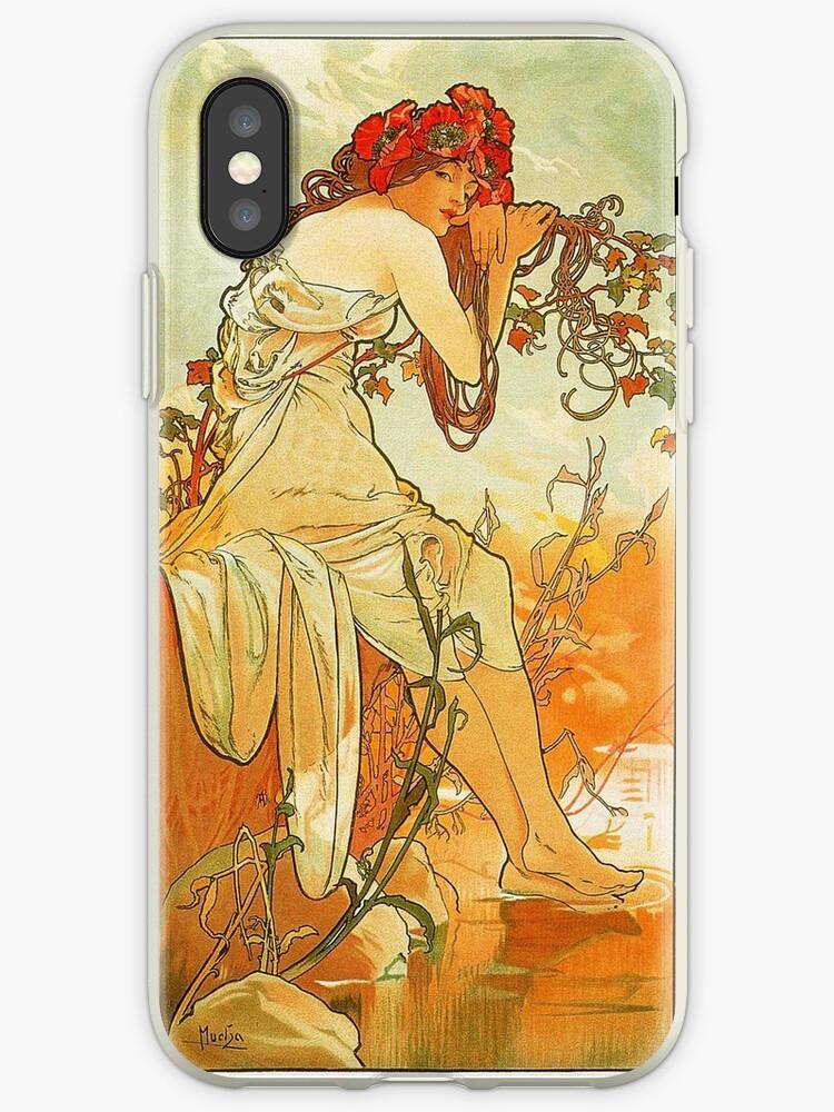 Alphonse Mucha - Summer by irinatsy