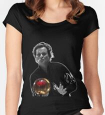 Kingpin - Big Ern Bowl Women's Fitted Scoop T-Shirt