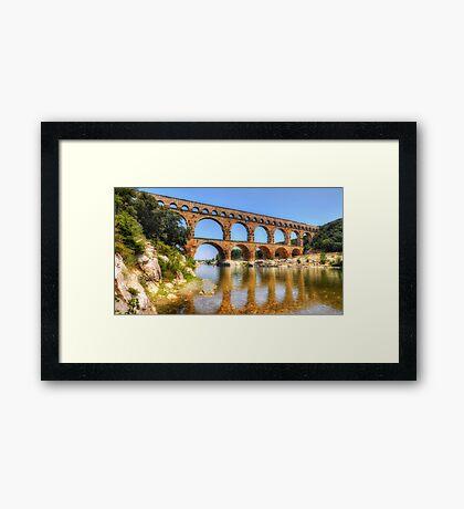 Pont Du Gard Framed Print