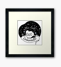 The Lost Cosmonauts Framed Print
