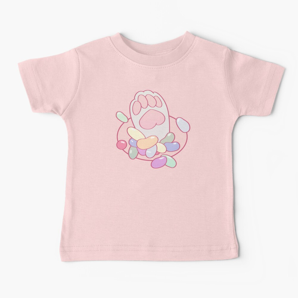 Kitty Toe Beans Baby T-Shirt