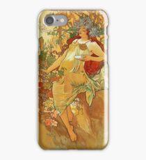 Alphonse Mucha - Autumn iPhone Case/Skin