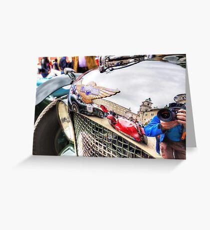 Lagonda Reflections Greeting Card