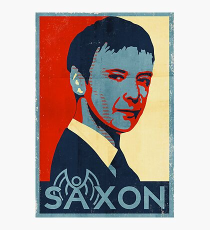 Saxon for PM Photographic Print