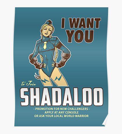 Shadaloo Wants YOU! Poster
